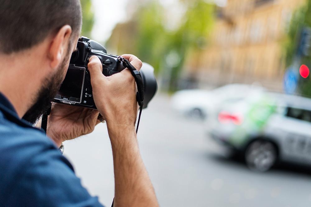 Fotografering-forwebb