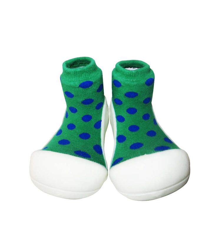Attipas polka green redigerad