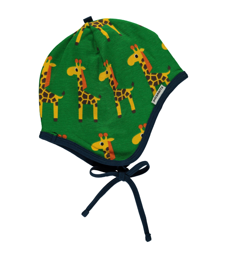 Hat helmet giraffe