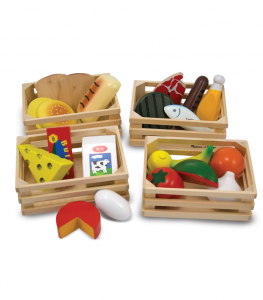 Melissa & Doug - Matgrupperna/Food Groups