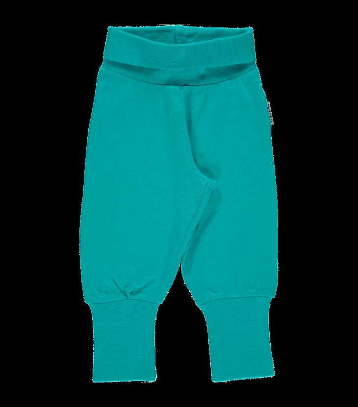 Pants rib turquoise