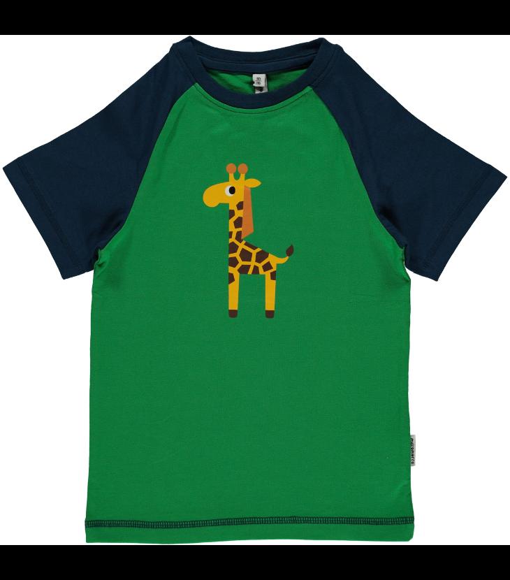 Top SS print giraffe