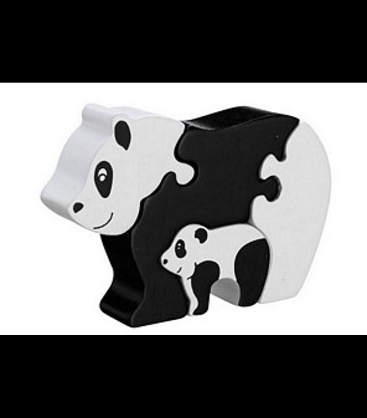 panda med unge