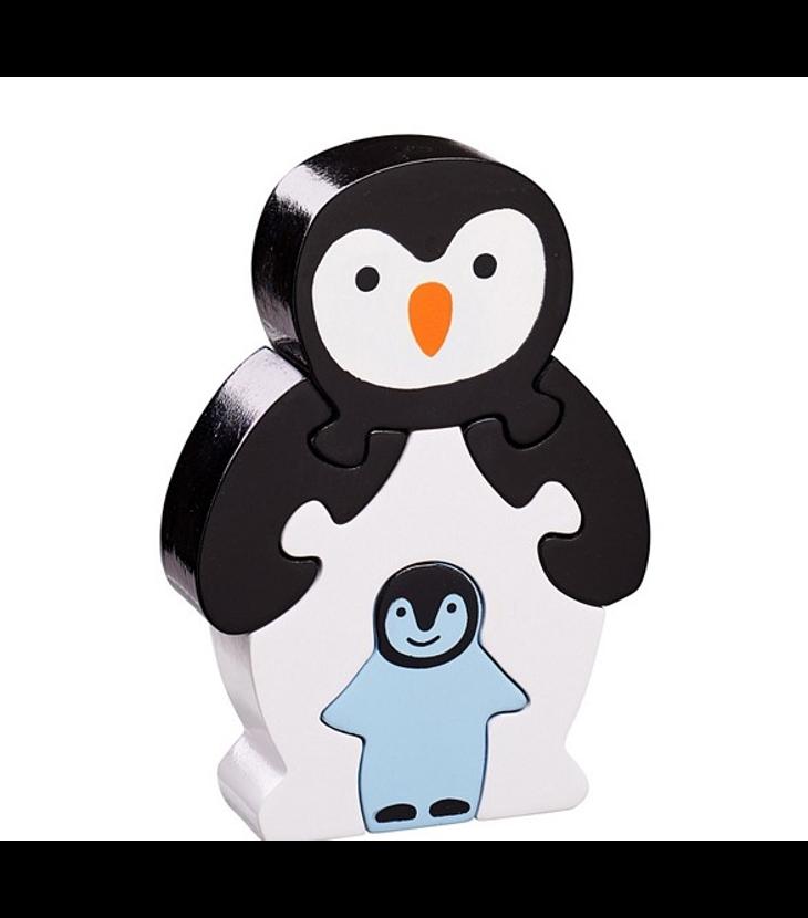 pingvin med unge