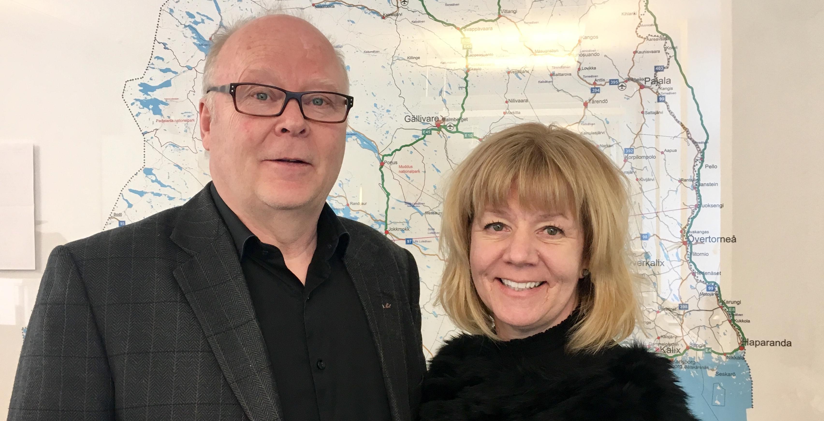 Robert och Linda webb