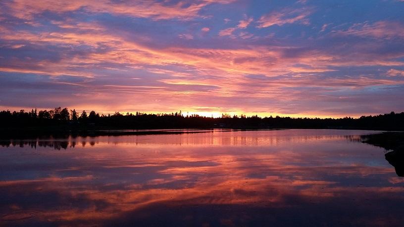 solnedgång skärgård 2