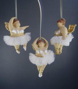 Glittrig ballerina/ängel