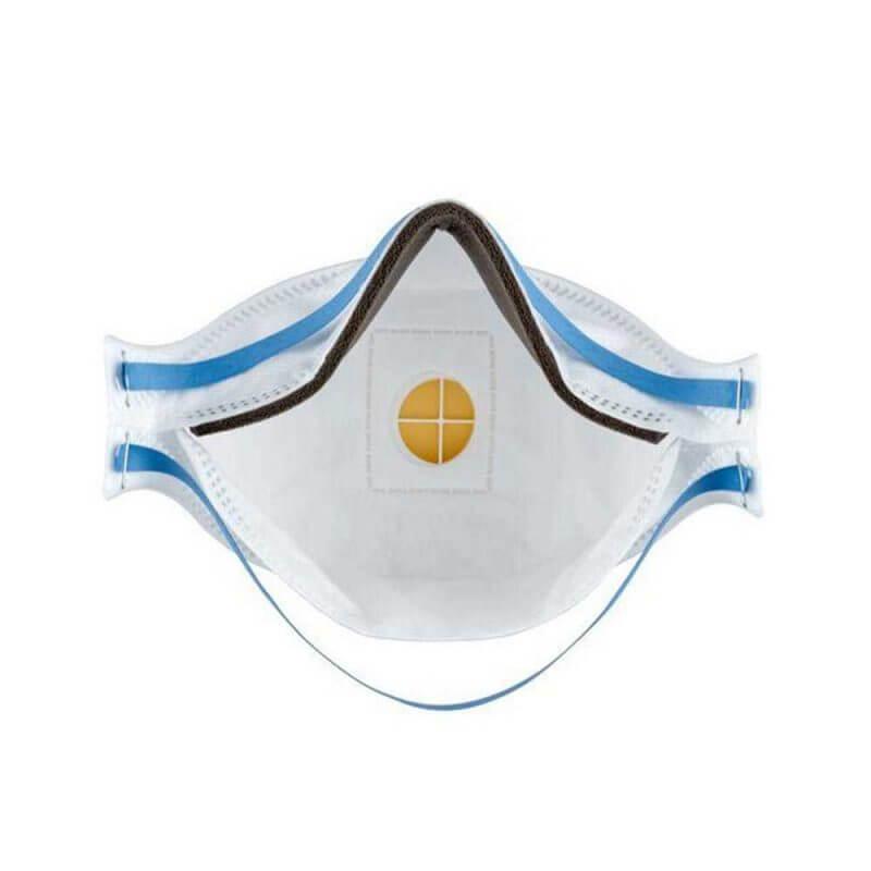 Insidan av 3M Aura FFP2 andningsskydd med ventil