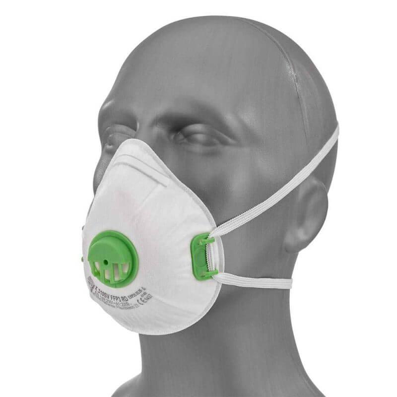 Andningsskydd FFP3 med ventil kvalitetsmaterial