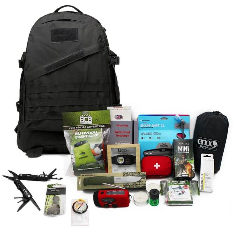 Bug Out Bag Vildmark