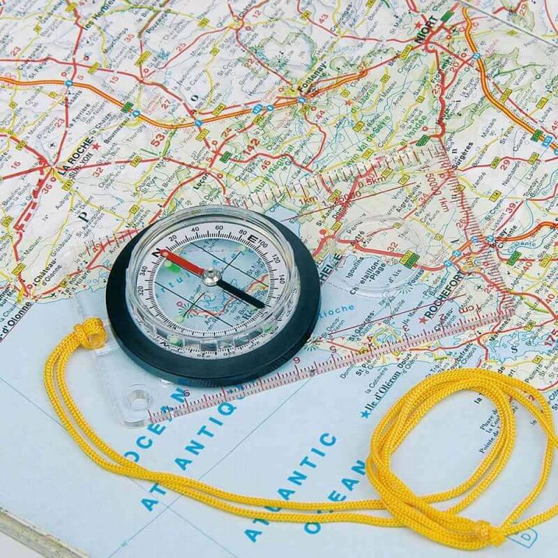 Kompass – Cyril på en karta
