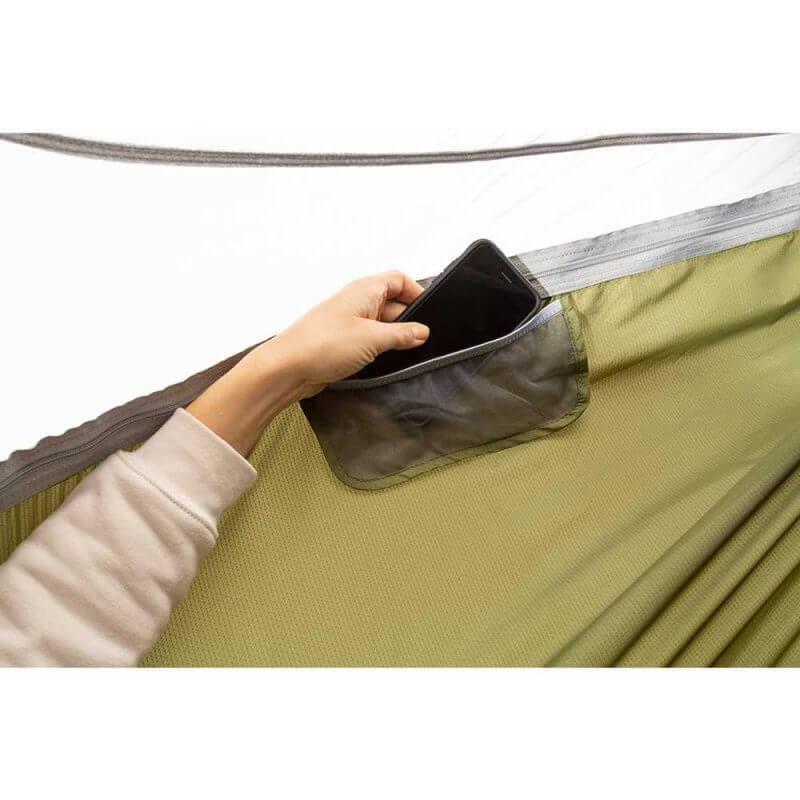 ENO JungleNest hammock –Evergreen med ficka