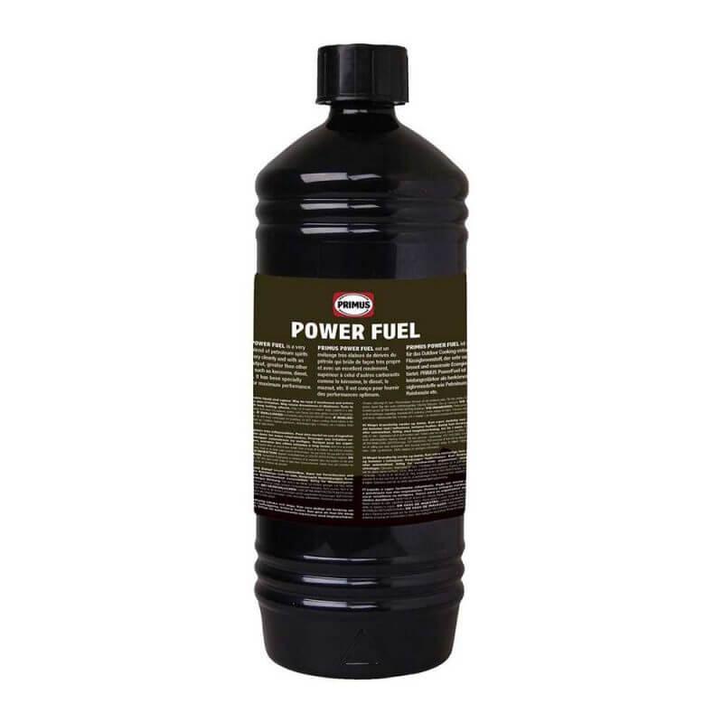 Kemiskt ren bensin – Primus PowerFuel 1 liter, baksida