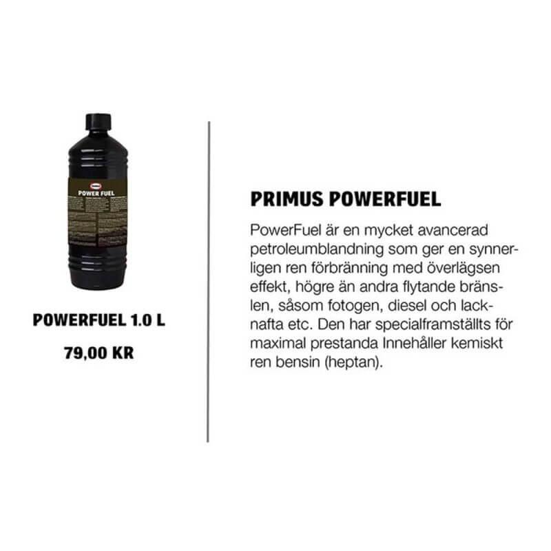 Kemiskt ren bensin – Primus PowerFuel 1 liter