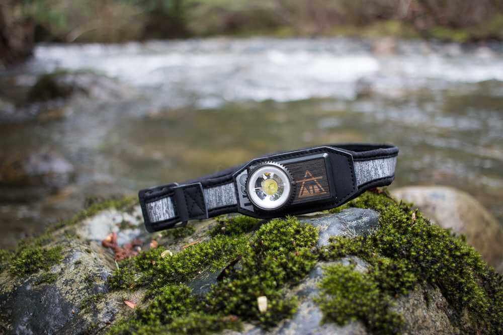 Laddningsbar pannlampa LED – UCO Air med uppladdningsbart batteri