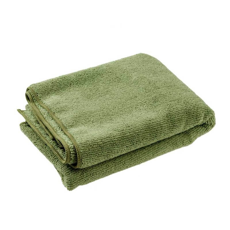 Microfiber handduk – lätt & snabbtorkande 40 x 80 cm, ihopvikt