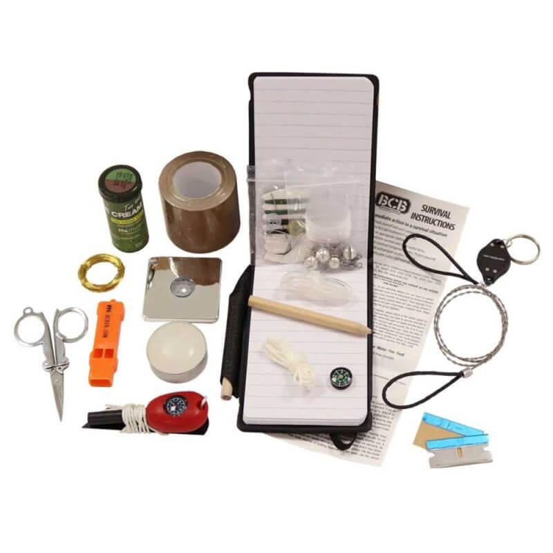 Nödväska SERE-kit för överlevnad innehåll