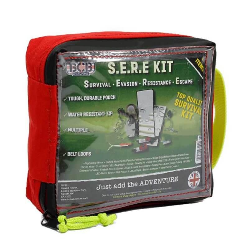 Nödväska SERE-kit för överlevnad