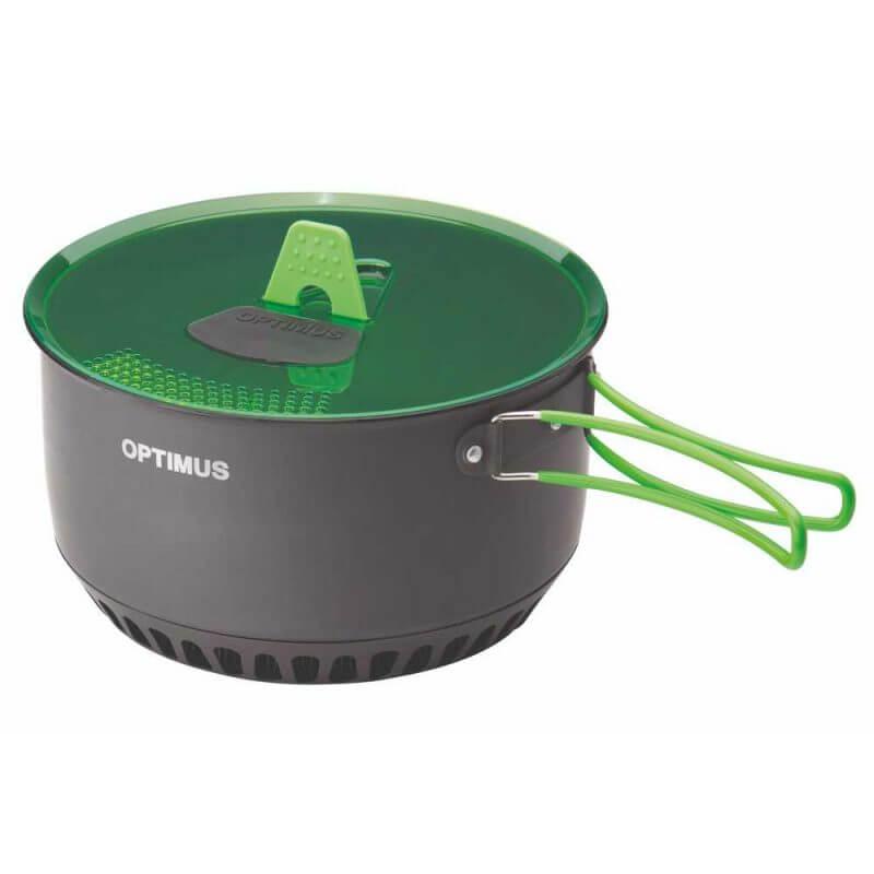 Optimus Terra Camp 4 Pot Set – kokkärl för friluftskök i 7 delar