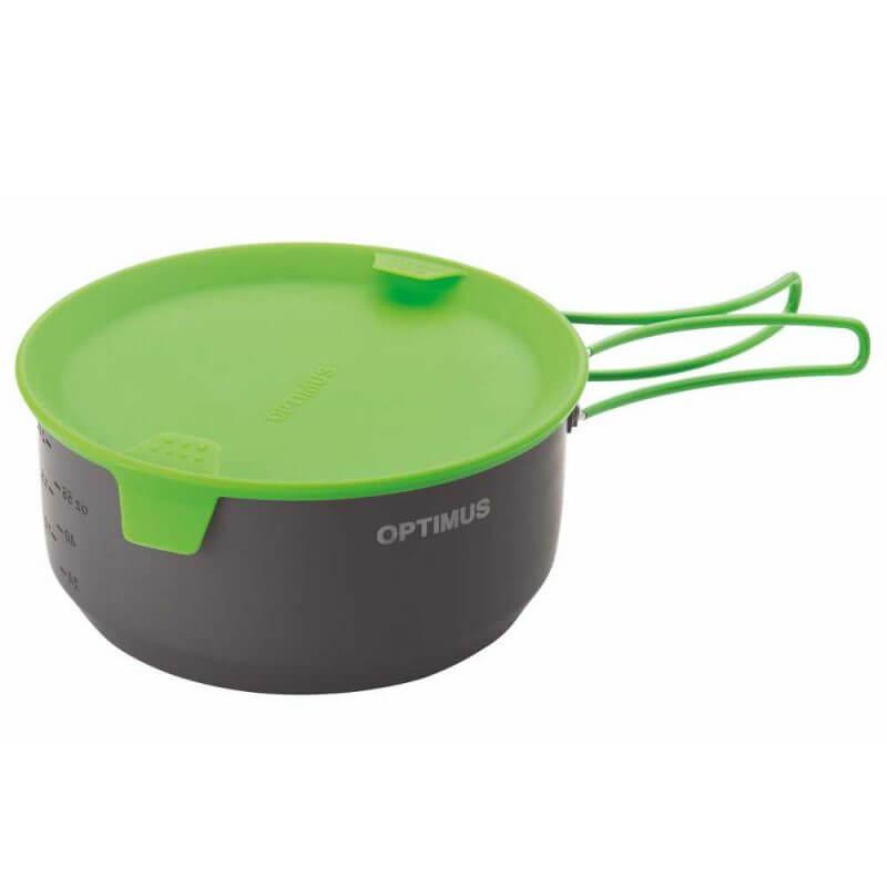 Optimus Terra Camp 4 Pot Set – kokkärl för friluftskök, kastrull