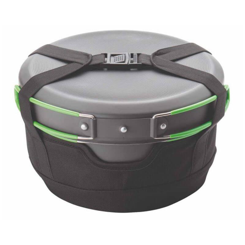 Optimus Terra Camp 4 Pot Set – kokkärl för friluftskök med thermobag