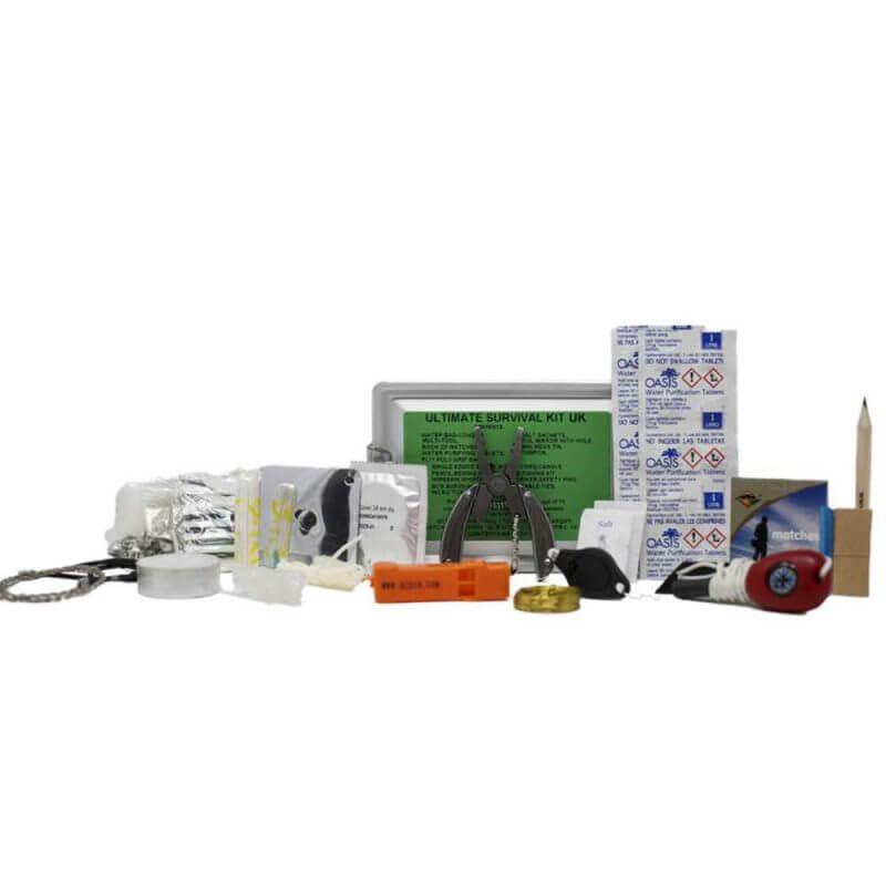 Överlevnadsask – BCB Ultimate Survival Kit, innehåll