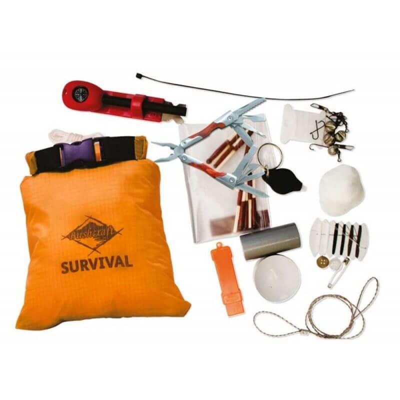 Överlevnadskit – BCB Survival Essential Kit, innehåll