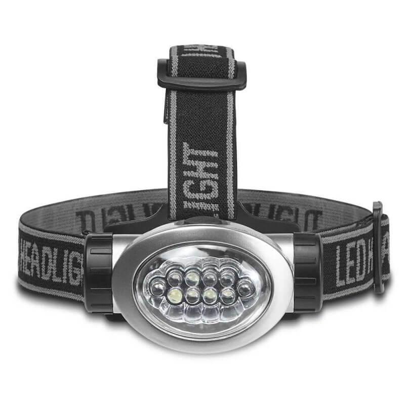 Pannlampa LED med batterier