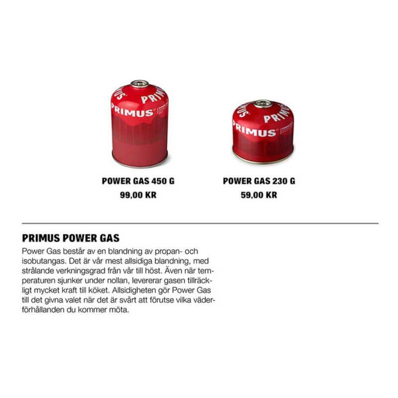 Gasbehållare – Power Gas propan och isobutangas