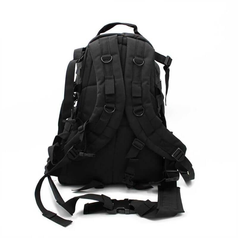 Ryggsäck 40 liter – Bug Out Bag / dagsryggsäck, baksida