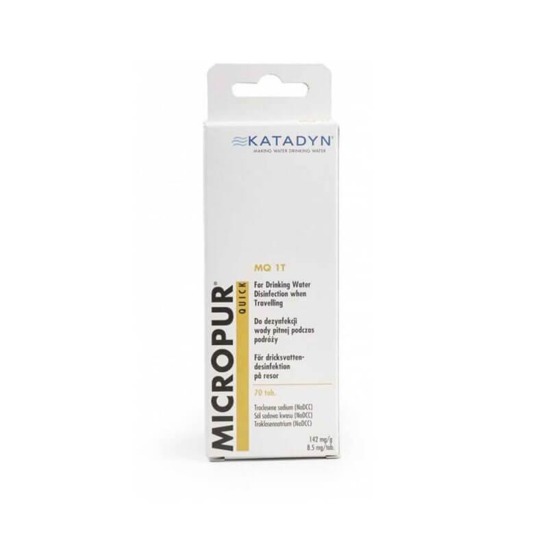 Vattenreningstabletter 70 stycken –Katadyn Micropur Quick MQ 1T