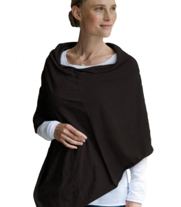 By Leia - Amningsponcho/Breast Feeding Poncho (black)