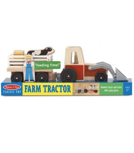 Melissa & Doug - Bondgårdstraktor/Farm Tractor
