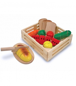 Melissa & Doug - Skära Mat/Cutting Food