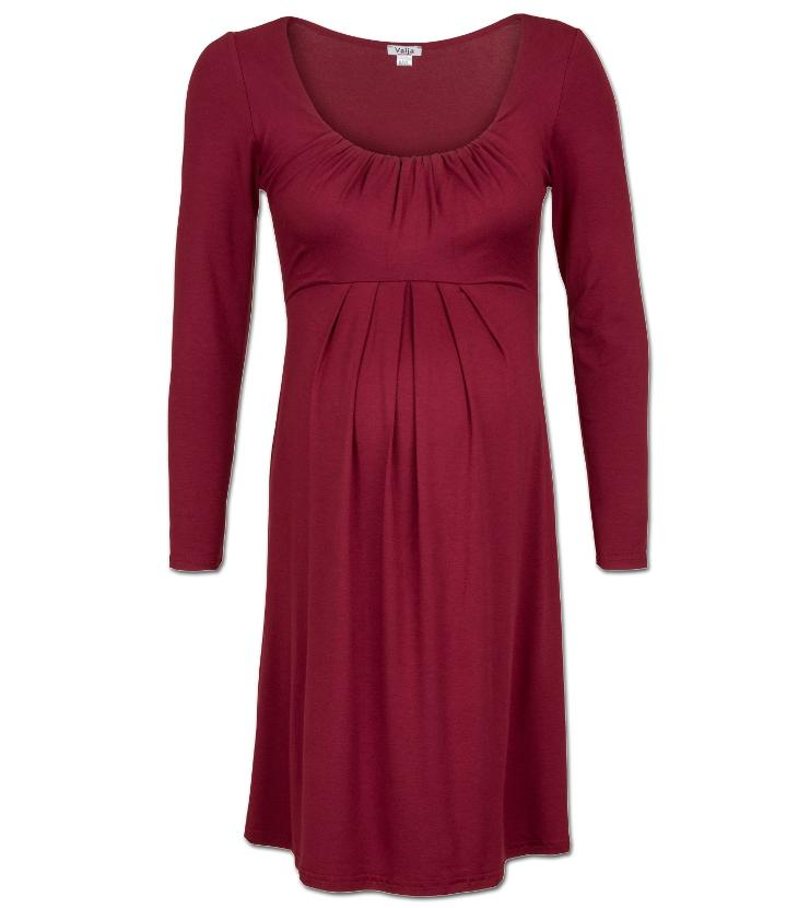 abc532a04917 valja mammaklänning maternity dress bordeaux red. HAFVA