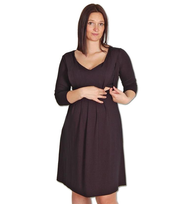 377b7d7f062e Valja - Mamma/Amningsklänning - Maternity/Nursing Dress (black) - Hafva