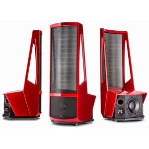 Band/Elektrostat högtalare