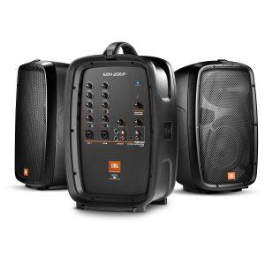 PRO Audio Aktiva Högtalare MIkrofoner Mixer Slutsteg