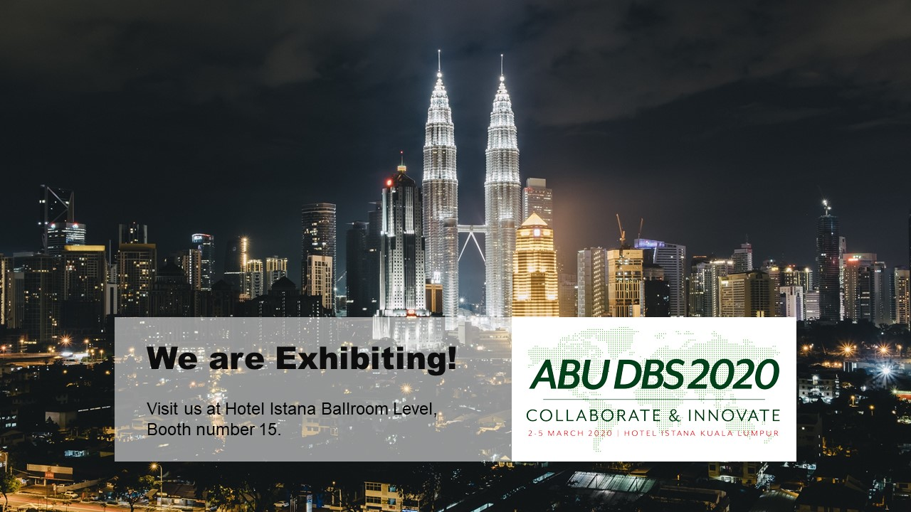 PROGIRA is Exhibiting at ABU DBS 2020