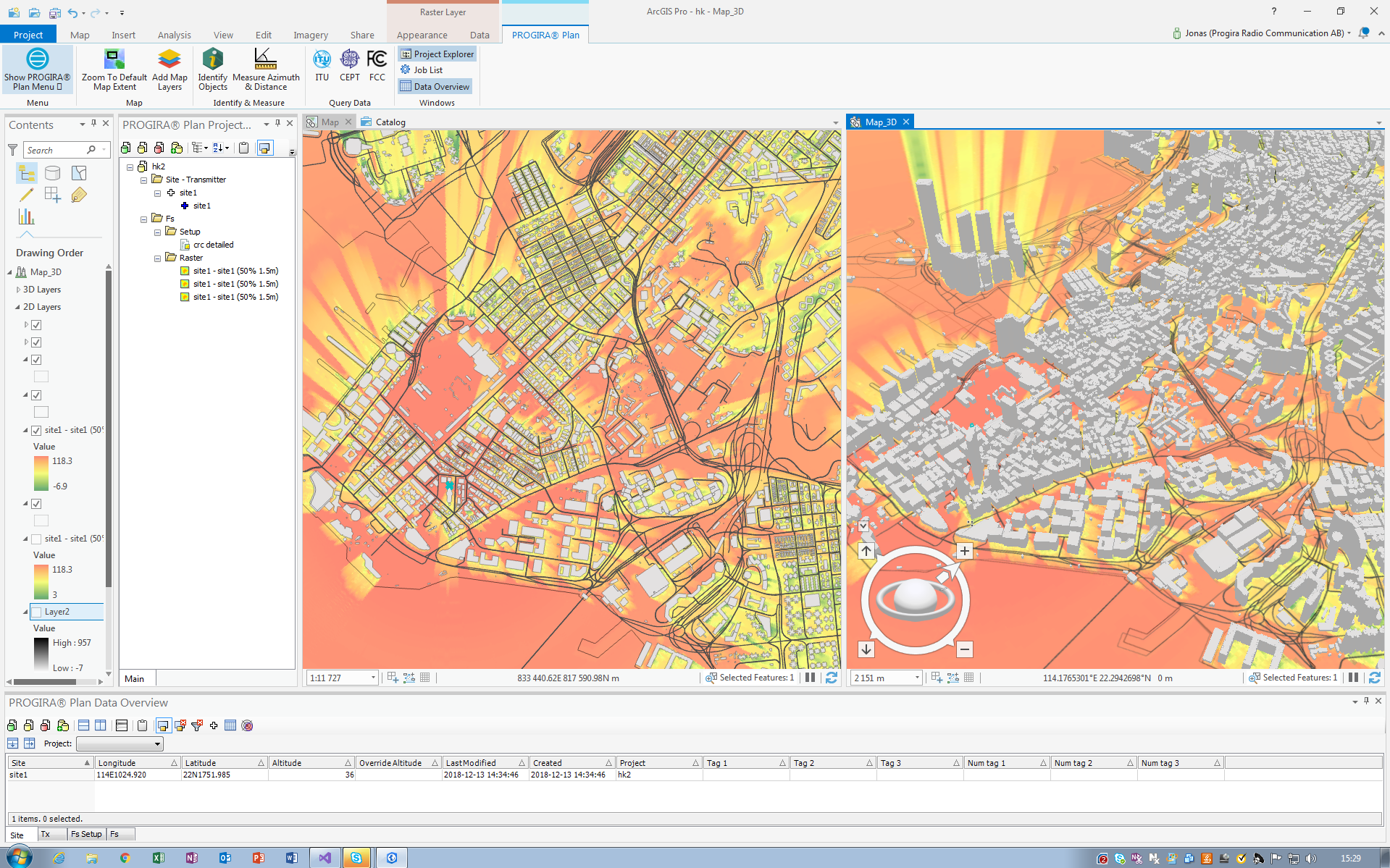 Using ArcGIS Pro in your spectrum planning projects