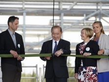 Officiell invigning av SunPines Hartsfabrik